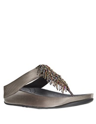Fitflop Cha Cha Tm Sandal Wedges Silver