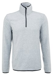 Your Turn Active Fleece Jumper Mottled Grey