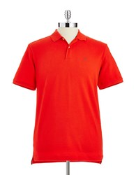 Victorinox Stretch Cotton Polo Ember Red