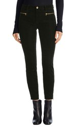 J Brand Women's 'Iselin' Zip Corduroy Pants Royal Green