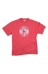 Men's Red Jacket 'Boston Red Sox' Trim Fit T Shirt