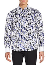 Robert Graham Regular Fit Marco Polo Abstract Print Sportshirt Multi