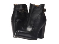 Bed Stu Isla Black Rustic Leather Women's Boots