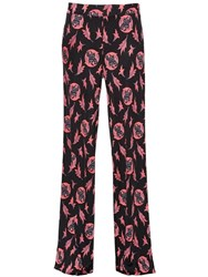 Etro Printed Silk Jersey Pants
