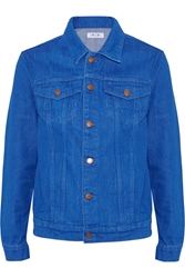 Mih Jeans Boyfriend Denim Jacket Blue