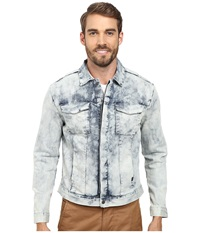 Calvin Klein Jeans Wipe Out Wash Jacket Denim Wipe Out Wash Men's Coat White
