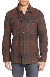 Men's Jeremiah 'Shelby' Plaid Twill Shirt Jacket