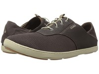 Olukai Nohea Moku Dark Wood Dark Wood Men's Shoes Brown