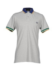 Fred Perry Polo Shirts Light Grey