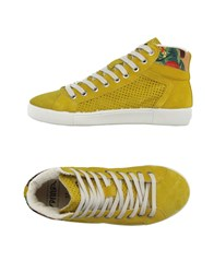 Springa Footwear High Tops And Trainers Women Yellow