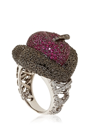Lydia Courteille Erotic Ruby Ring Red Sapphire