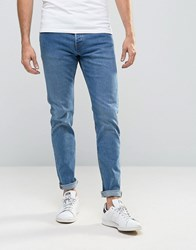 Weekday Wednesday Slim Jeans Peer Blue Peer Blue 75 101