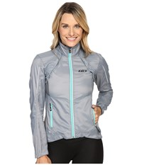 Louis Garneau Cabriolet Jacket Steel Women's Workout Silver