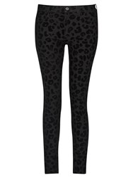 French Connection Snow Leopard Jeans Black