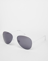 Esprit Aviator Sunglasses White