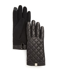 Lauren Ralph Lauren Quilted Tech Gloves Black