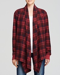 Alternative Apparel Alternative Cardigan Yarn Dye Flannel