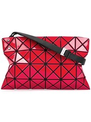 Issey Miyake Bao Bao 'Lucent Basic' Crossbody Bag Red