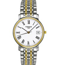 Tissot T52.2.481.13 Desire Stainless Steel And Gold Watch