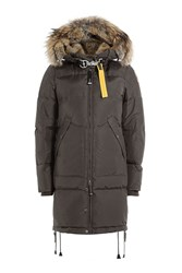 Parajumpers Long Bear Down Parka With Fur Trimmed Hood Gr. S