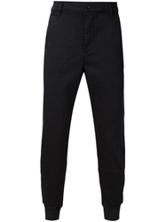 Paige 'Baxter' Tapered Trousers Black