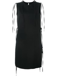 Damir Doma Straight Mid Length Dress Black