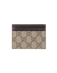 Gucci Small Leather Goods Document Holders Men Beige