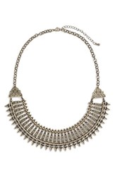 Junior Women's Bp. Metal Collar Statement Necklace