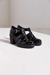 Vagabond Patent Leather Grace Heel Black