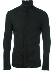 Masnada High Neck Fitted Jacket Black