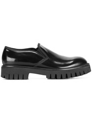 Dolce And Gabbana Chunky Slip On Loafers Black