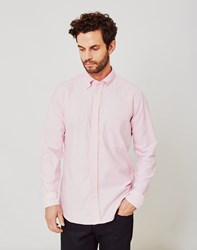 B.D Baggies Classic Plain Oxford Shirt Pink