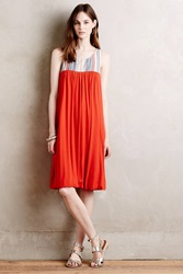 Porridge Cayucos Dress Orange