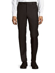 Pal Zileri Wool Blend Four Pocket Pants Charcoal