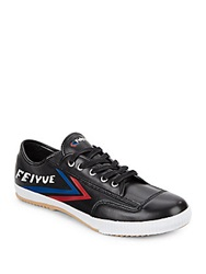 Feiyue Fe Lo Classic Leather Sneakers Black Multi