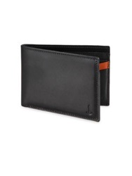 Miansai Two Tone Leather Billfold Wallet Black