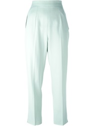 Celine Vintage High Waist Trousers Blue