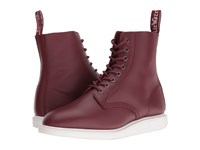 Dr. Martens Whiton 8 Eye Boot Cherry Red Softy T Lace Up Boots