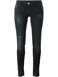 Philipp Plein 'Provocative Behaviour Super Sexy' Jeans Black