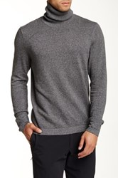Kenneth Cole Marl Turtleneck Sweater Gray