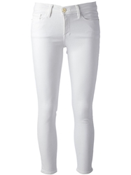 Frame Denim 'Le Color' Trouser White