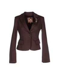 Silvian Heach Blazers Dark Brown