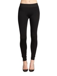 Bcbgmaxazria Mason Stretch Ponte Leggings Black
