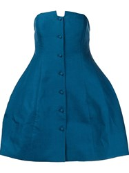 Rosie Assoulin 'Lamp' Top Blue