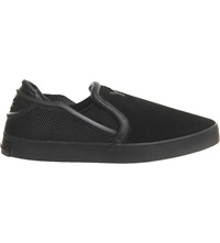 Adidas Y3 Laver Slip On Shoes Black Mono