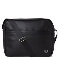 Fred Perry Pique Shoulder Bag Black