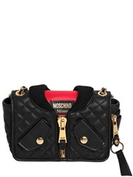 Moschino Bomber Quilted Leather Shoulder Bag