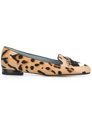 Chiara Ferragni 'Flirting' Slippers Brown