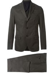 Mp Massimo Piombo Two Piece Suit Grey