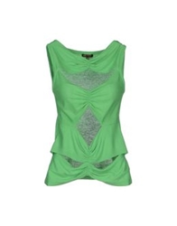 Amaya Arzuaga Tops Light Green